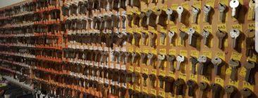 A&J Wall of Keys