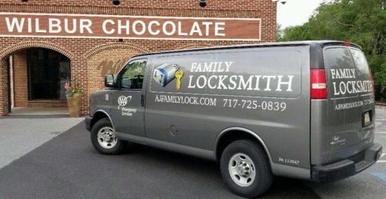 A&J Van at Wilbur Chocolate